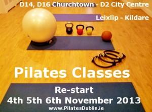 Pilates Classes in South Dublin Churchtown Village, Close to Dundrum Rathfarnham, Dublin 2, Dublin City Centre, Leixlip Community Centre, Kildare