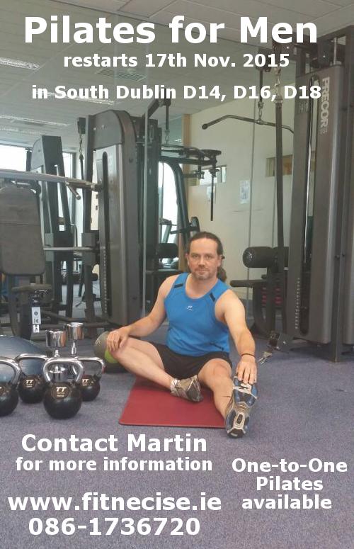 Pilates for Men in South Dublin, Leopardstown, Sandyford Dundrum close to Ticknock, Stepaside, Kiltiernan, Cabinteely, Foxrock