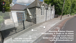 Morning AM Pilates Classes South Dublin Rathfarnham Willbrook WhiteChurch close to Nutgrove Churchtown Dundrum Dublin 14 Dublin 16.png